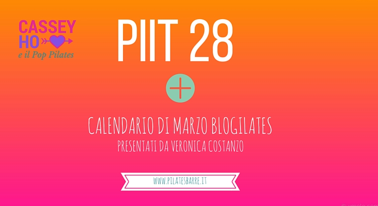 PIIT28 calendario pop pilates blogilates